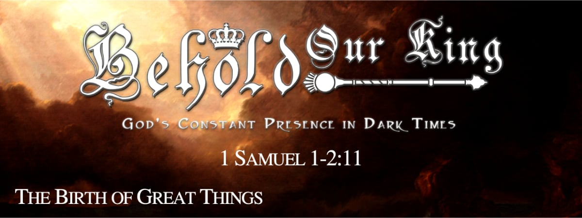 1 Samuel 1:1-2:11 