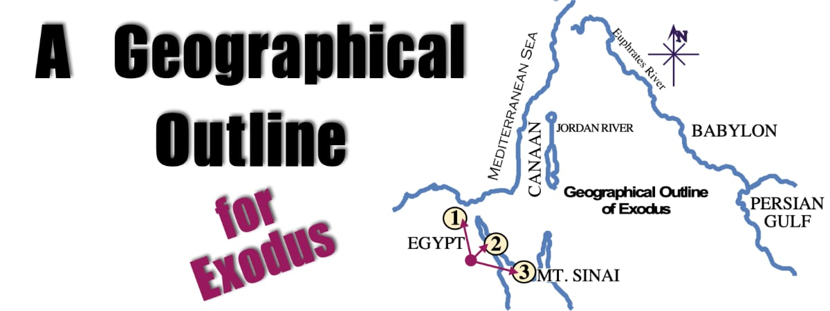 A Geographical Outline of Exodus