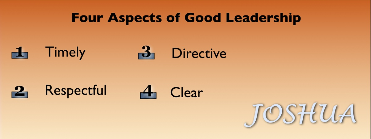 Four Aspects of Godly Leadership
