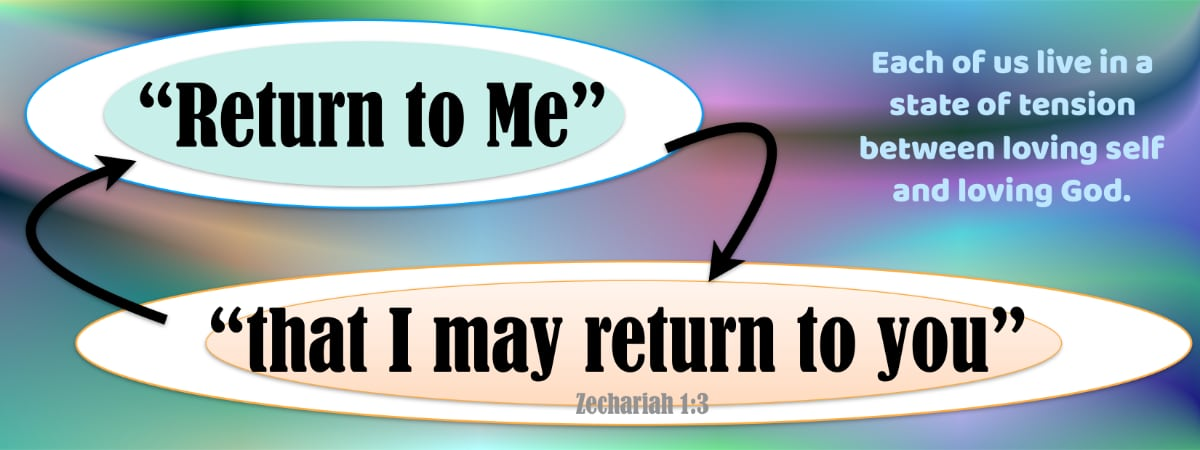 Return to Me, and I will return to you! Zechariah 1:3