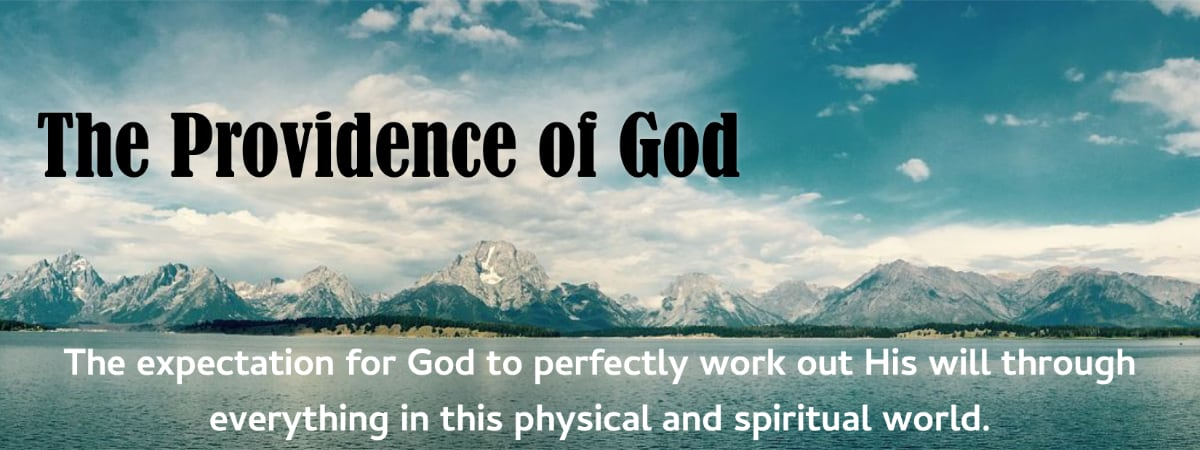 The Providence of God: Confidence of the Wrong Being Rightened