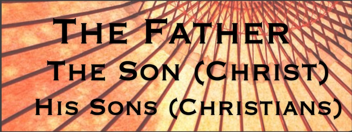 The Pattern of Imitation starts in God Our Father