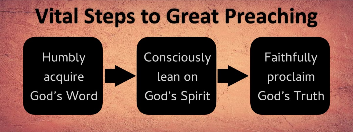three Vital Steps to Great Preaching