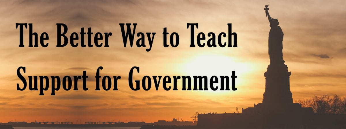 A Better Way to Teach Support for Government: Political favoritism can become dangerous if we neglect the complete picture.