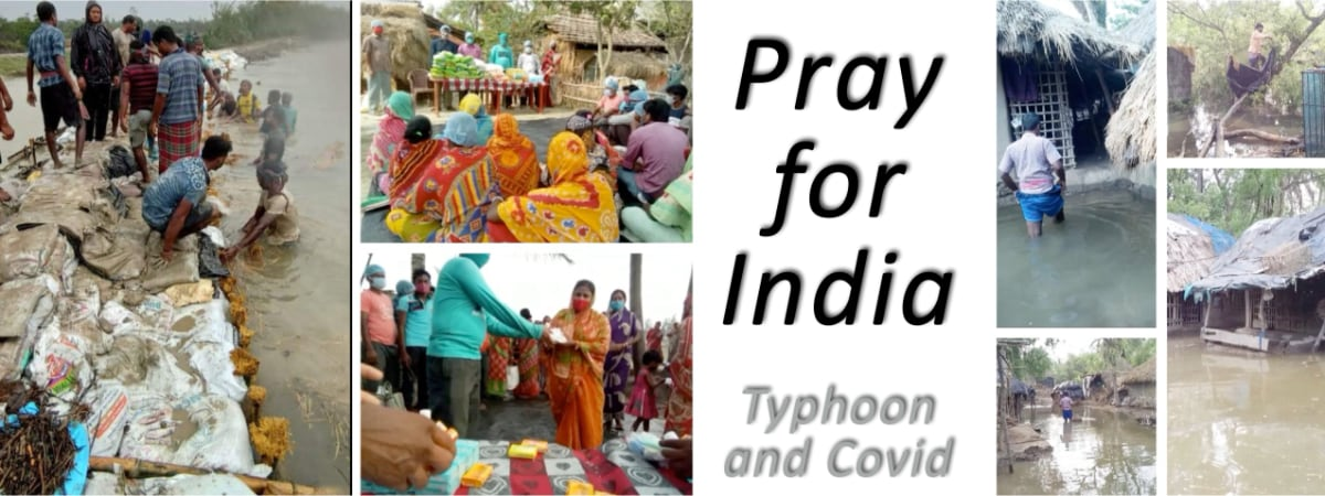 Do pray and consider giving to India's needs.